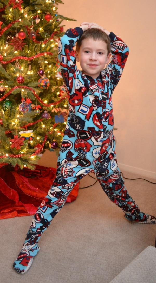 Our Pajama Tradition: Joe Boxer - Amy Latta Creations