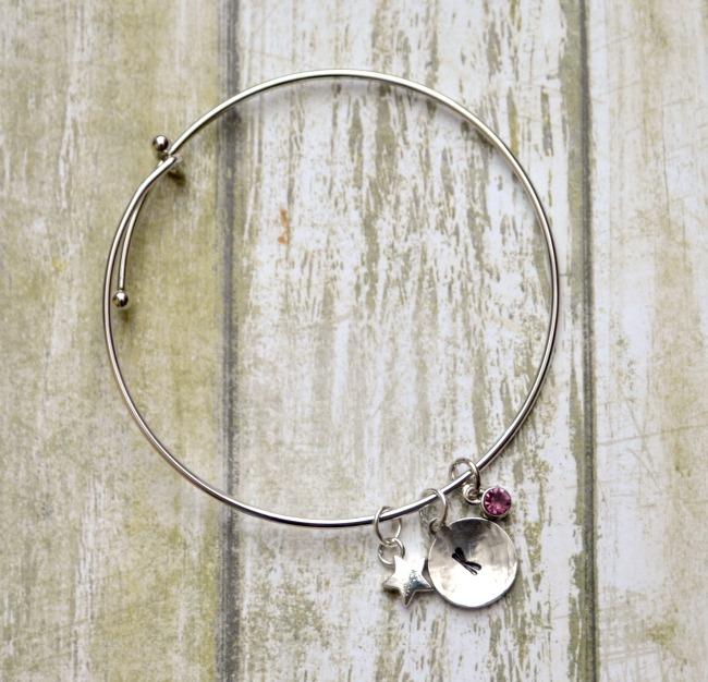 Monogram Charm Bracelet