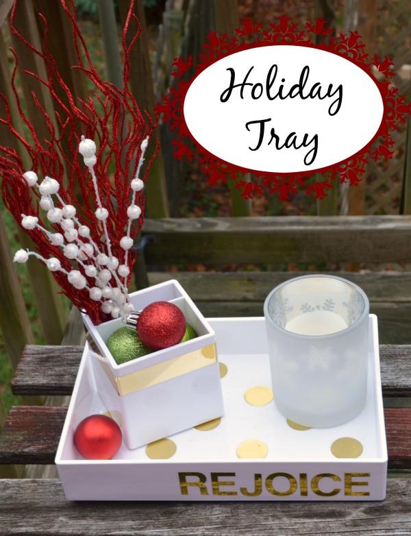 Holiday Tray