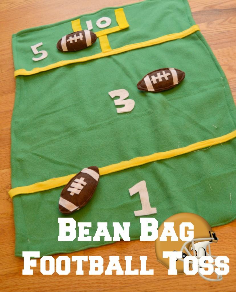 Bean Bag Football Toss