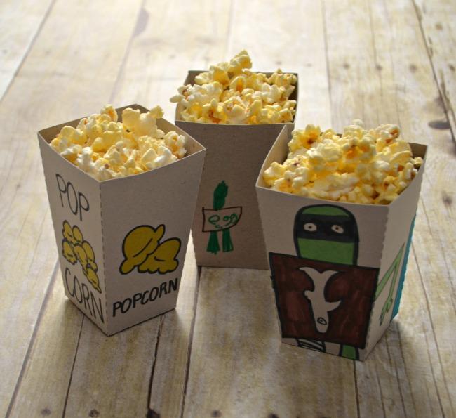 The Boxtrolls Popcorn Boxes