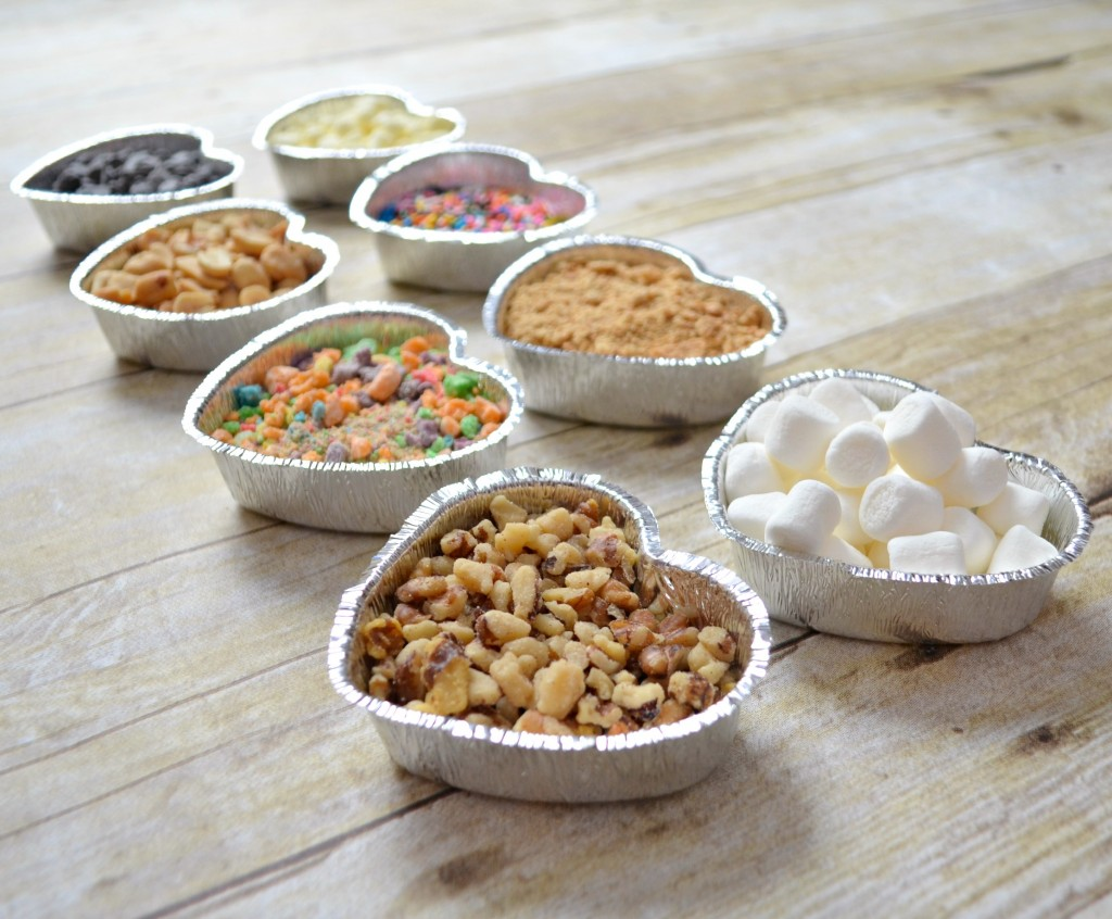 Valentine Toppings Bar