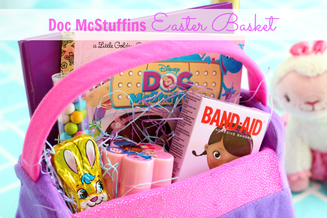 Thinking outside the basket easter gift ideas doc mcstuffins easter basket negle Image collections