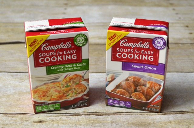 Two Quick Dinner Recipes with Campbell's
