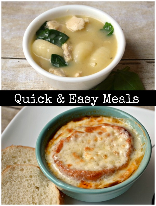 Quick & Easy Meals #weeknighthero