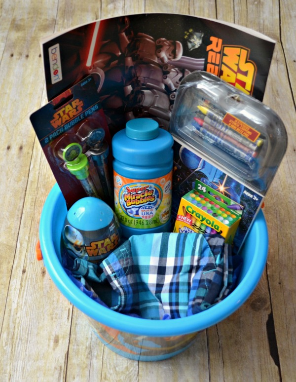 Star wars easter basket one artsy mama star wars easter basket negle Choice Image
