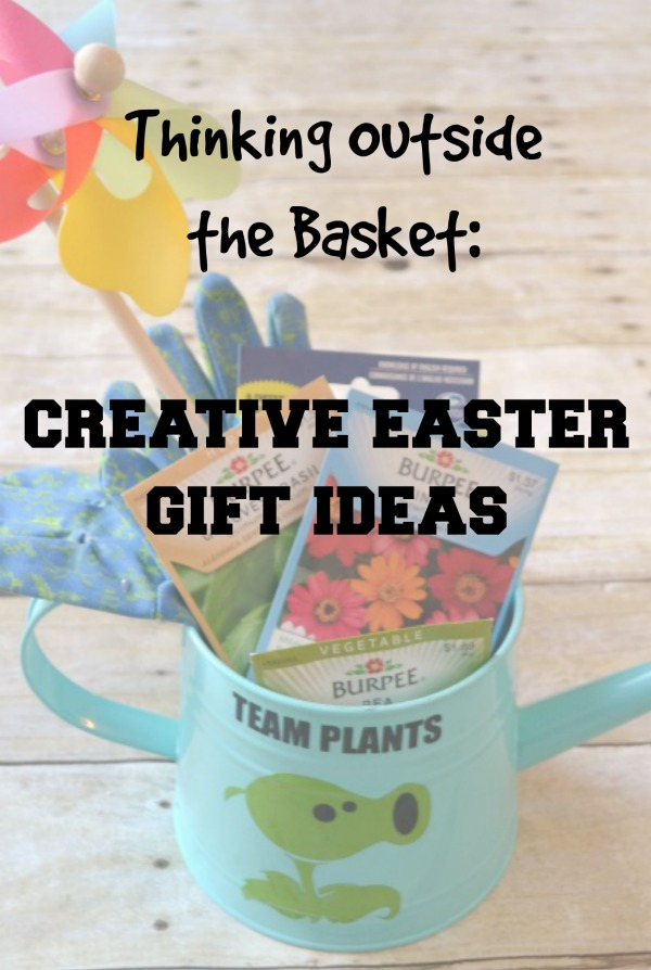 Thinking outside the basket easter gift ideas wateringcanpin2 negle Images