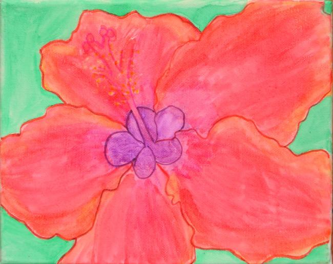Flowers on Canvas: A Lesson on Georgia O'Keeffe