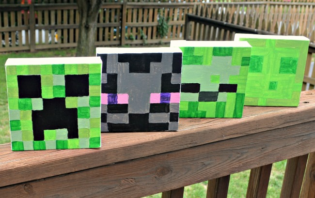 Minecraft Canvas
