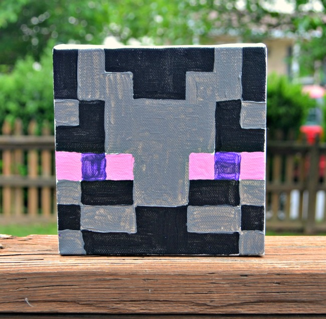 Minecraft Canvas Enderman