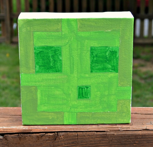 Minecraft Canvas Slime