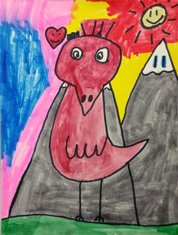 James Rizzi inspired birds