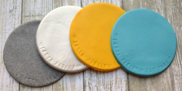 Sculpey Clay Coasters