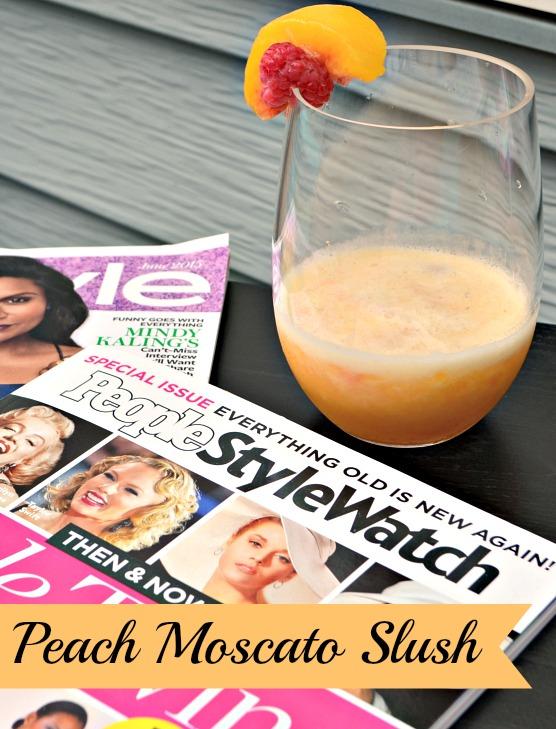 Peach Moscato Slush Recipe