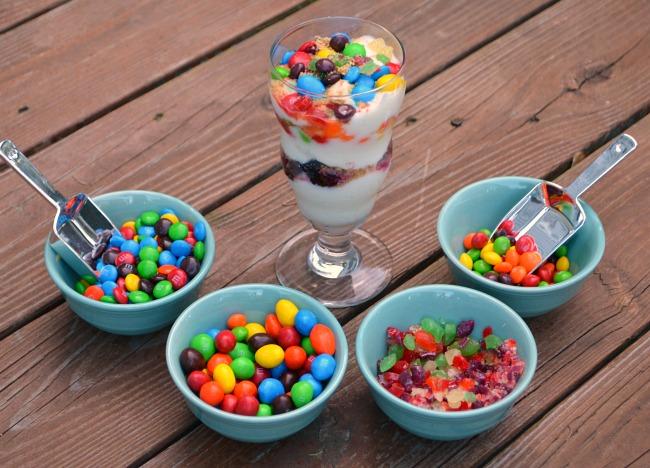 Yogurt Topping Bar