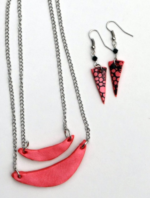 Geometric Clay Jewelry Tutorial