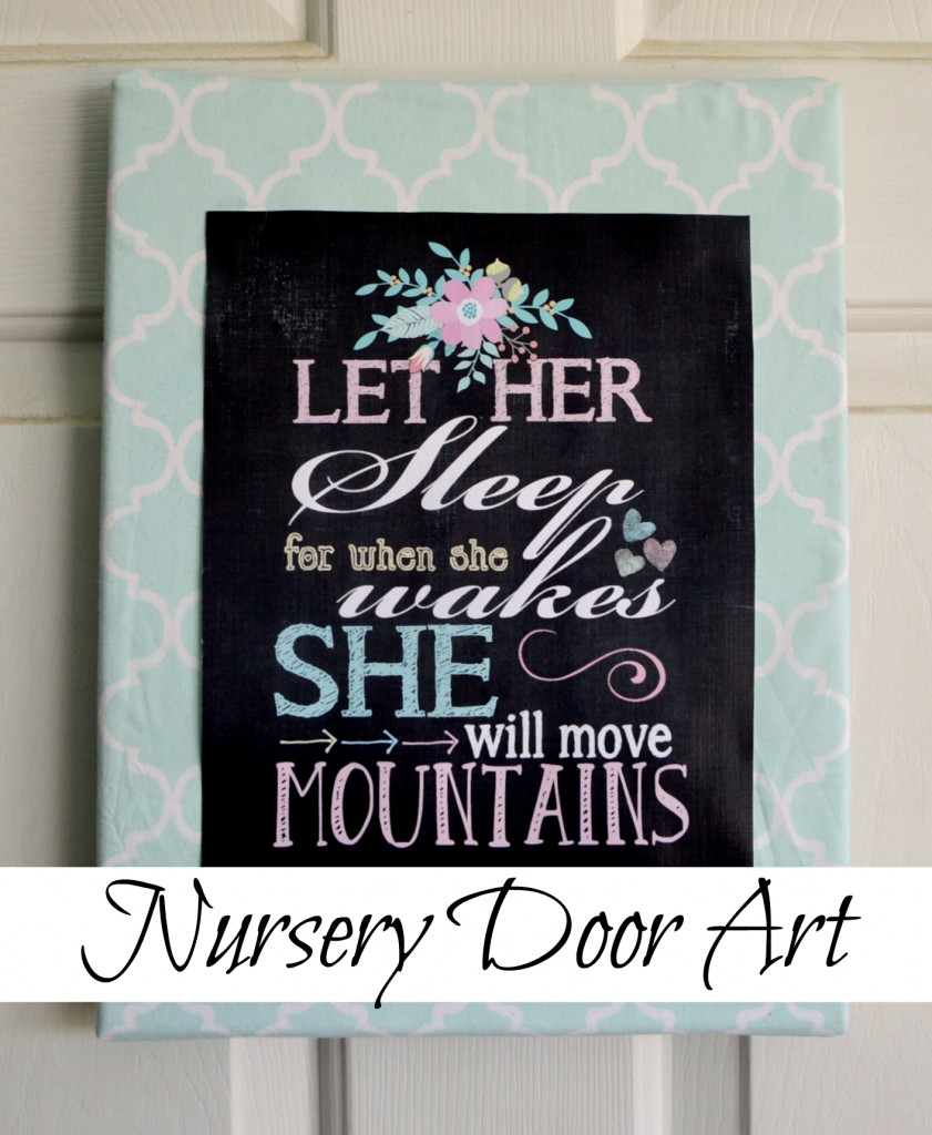 Nursery Door Art