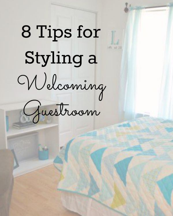 Guest Room Styling Tips