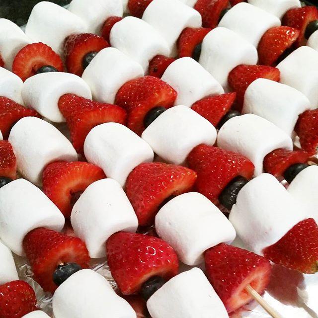 Fruit Kebab Snacks