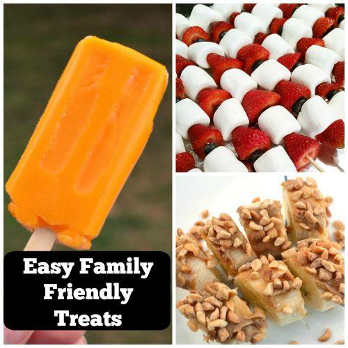 Family Friendly Treat Ideas