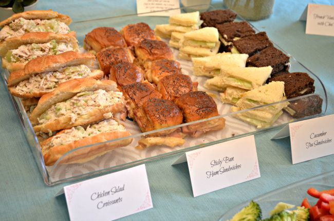 Food To Have At A Baby Shower Image Cabinets And Shower Mandra