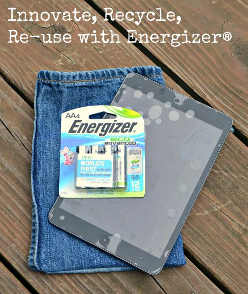 Innovate, Recycle, Re-use with Energizer