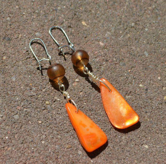 Autumn Inspired Dangle Earrings