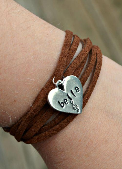 Pitch Perfect 2 Leather Wrap Bracelet