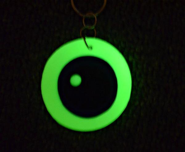 eyeball glow