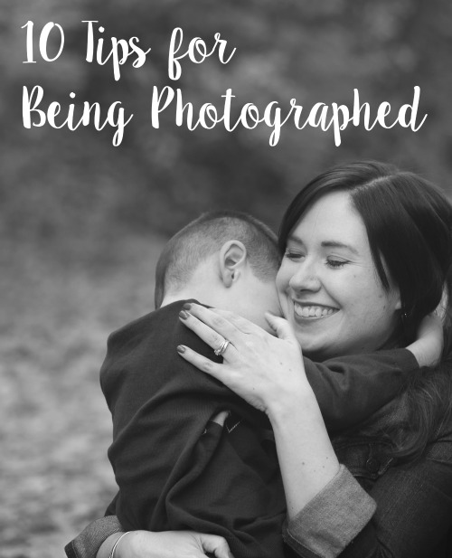 10 Tips for Being Photographed