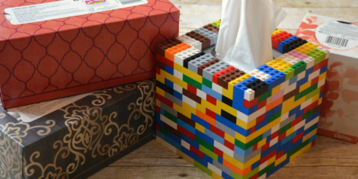Lego Tissue Box