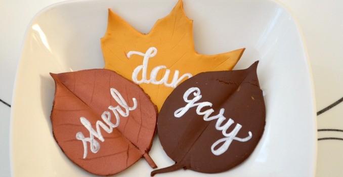 Fall Leaf Placecards