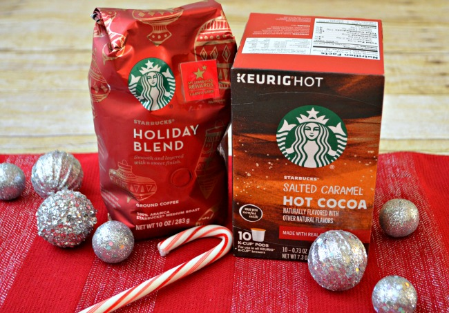 Starbucks coffees