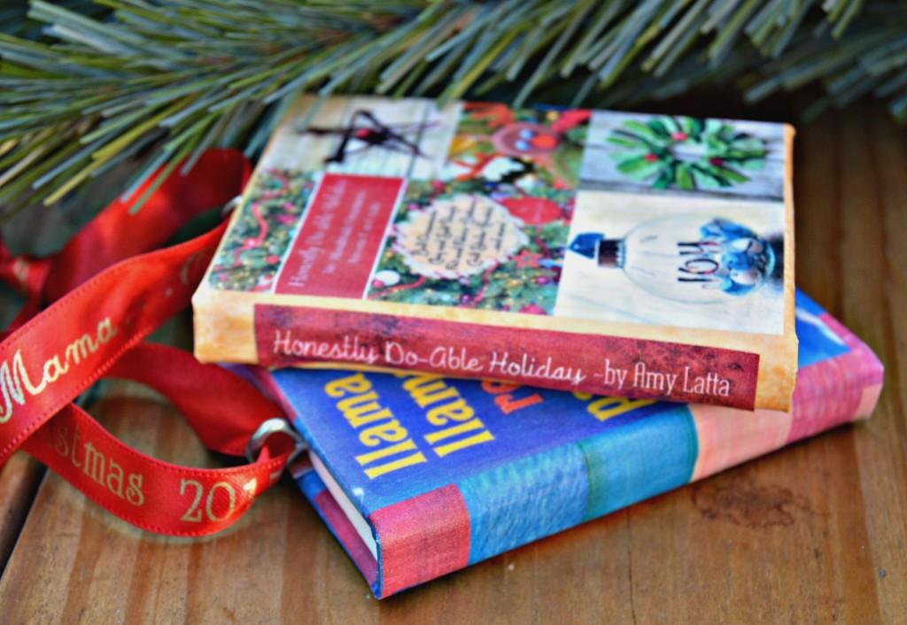 Mini Book Ornament