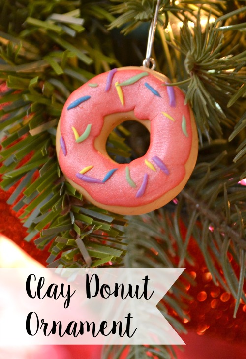 Clay donut ornament amy latta creations clay donut ornament solutioingenieria Choice Image