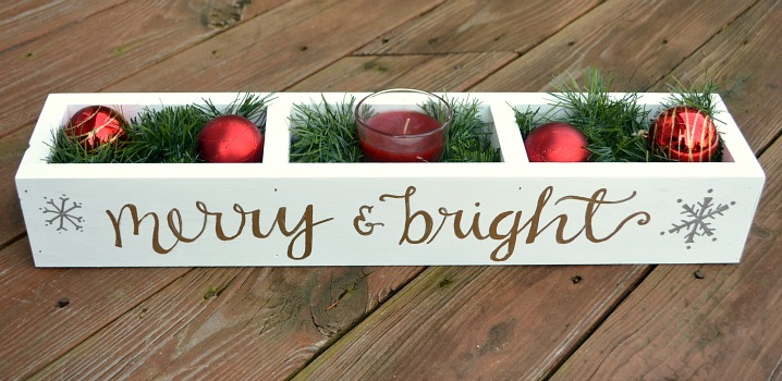 Merry & Bright Centerpiece
