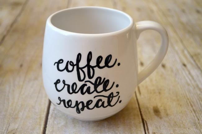 coffee create repeat mug