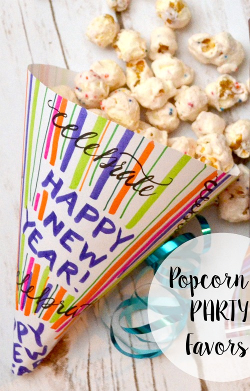 Pop Works Popcorn Party Favor