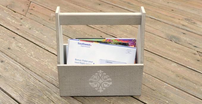 Decorative Mail Holder