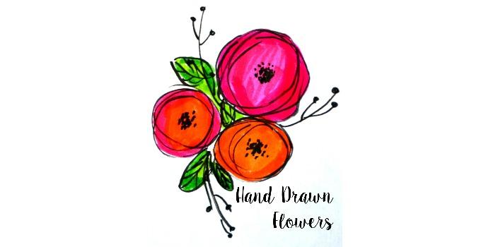 Basic Hand Lettering: Flower Embellishments