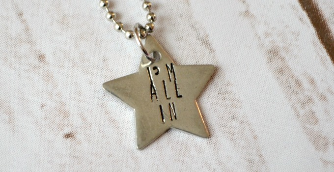 "Gilmore Girls ""I'm All In"" Pendant"