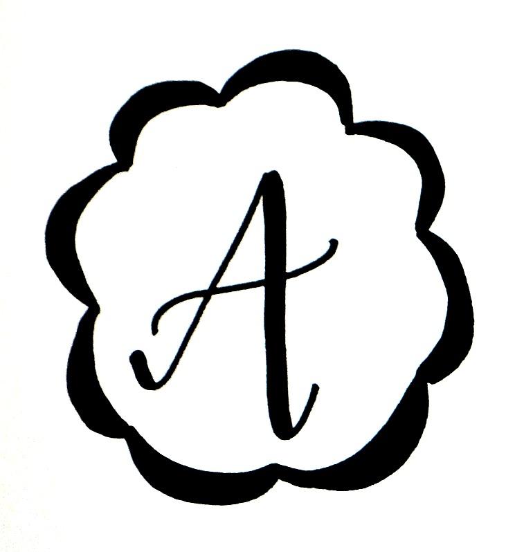 Basic Hand Lettering Monogram
