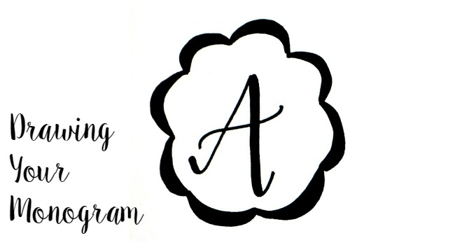 Basic Hand Lettering: Drawing a Monogram