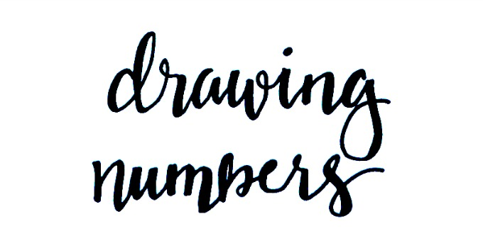 So I Thought Id Take A Minute Today To Share Basic Set Of Numbers That Will Work With Both Brush Style And Whimsical Print Fonts Ready