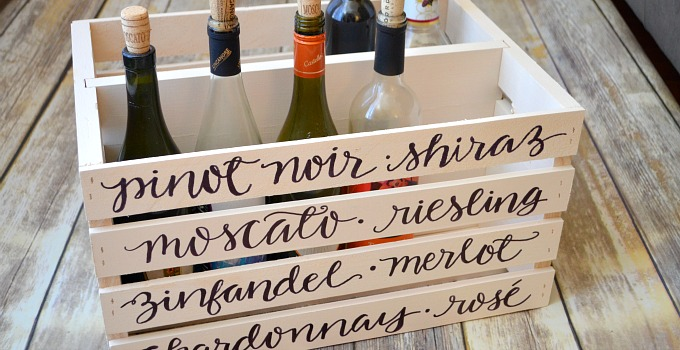 Wine Storage Crate