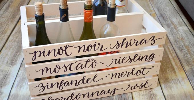 Wine Storage Crate