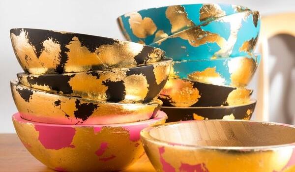 Decorative Gilded Bowl