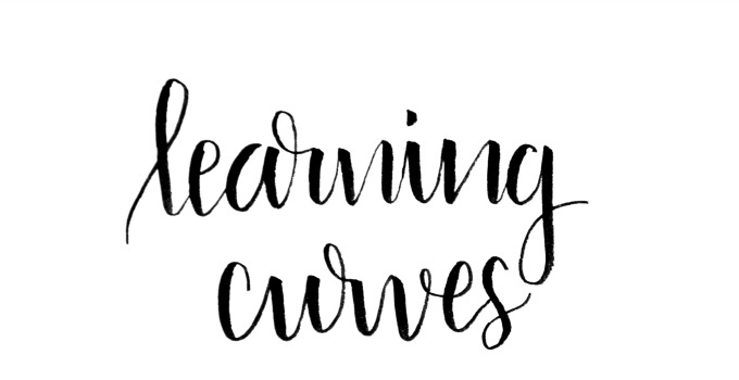 Beginner Brush Lettering: Learning Curves