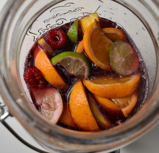 how to make blackberry sangria drink