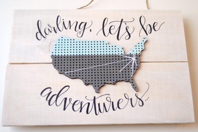 Map String Art